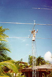 1995 2m EME array in ZF8