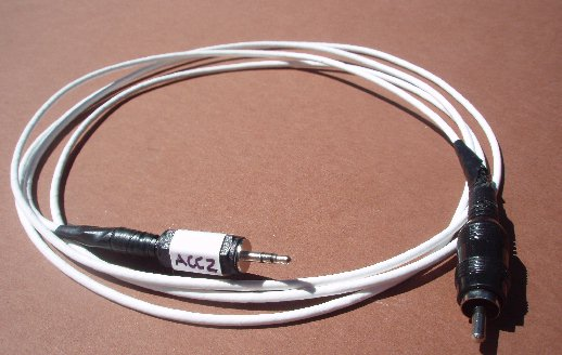 kx computer interface for wsjt digital modes cable that terminated in an rca plug to interface the ptt of my 6m 1000 amplifier the 2 5 mm stereo plug was digi key part number cp 2501sp nd