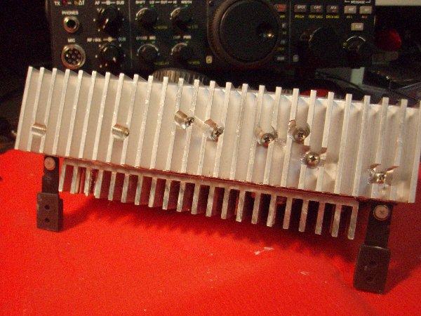 KX3 heat sinks for WSJT Digital Modes