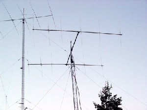 Sampling of the Antennas Used to Contact W7GJ on 50 MHz EME