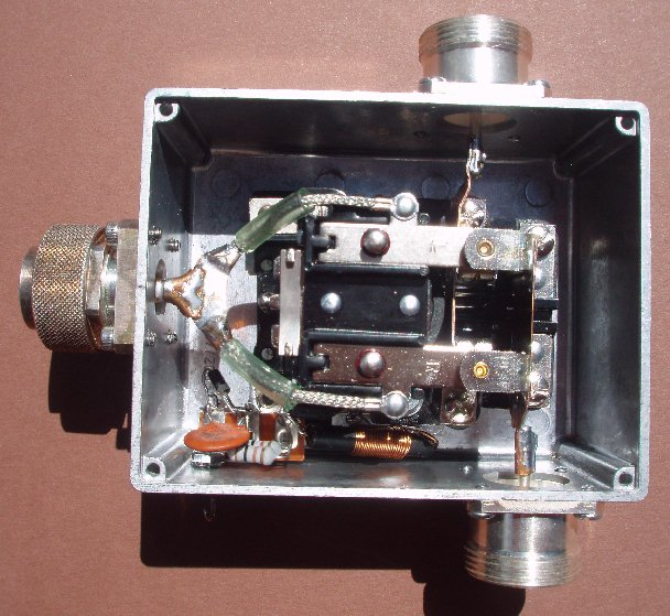 A qro 50mhz coaxial relay switch